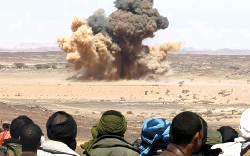 Smara: Une famille blessée dans l'explosion d'une mine
