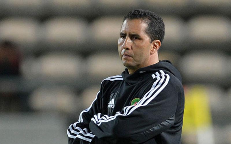 L'équipe olympique marocaine de football en concentration