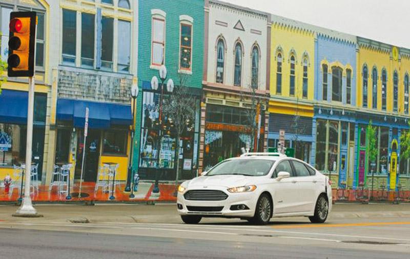 Ford se lance dans la voiture autonome