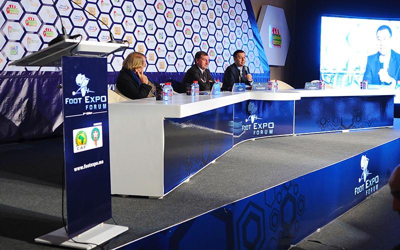 Ouverture du Forum Foot Expo 2014 sous le thème, «Maroc terre de football»