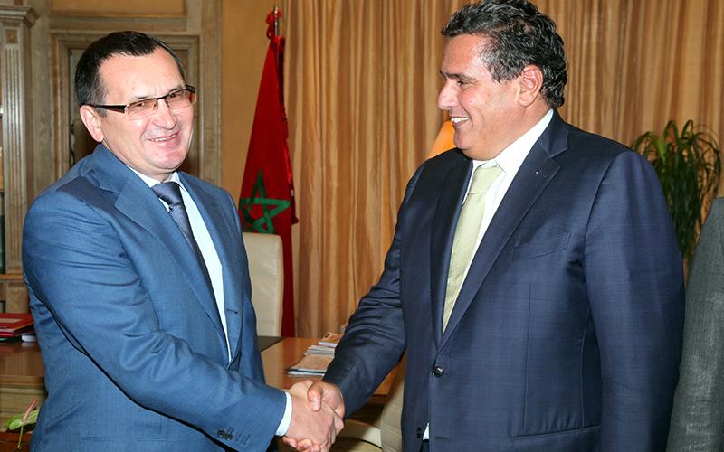 Coopération: Aziz Akhannouch s'entretient avec son homologue russe