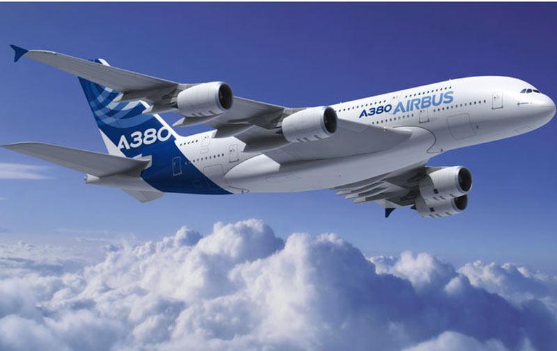 Airbus : un carnet de commandes de 6 386 appareils en 2014