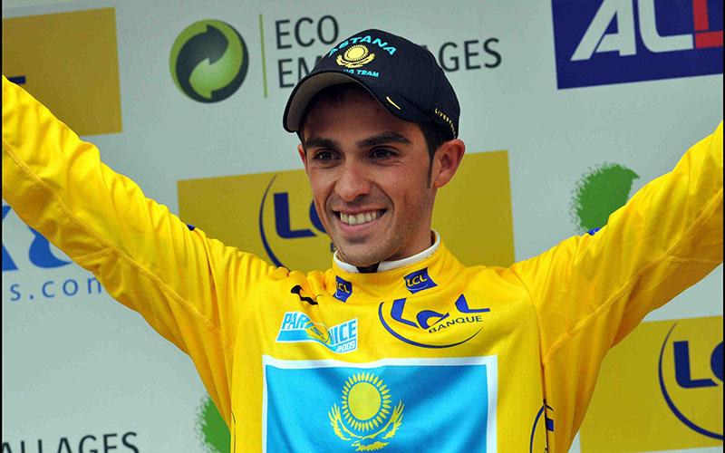 Cyclisme : Contador numéro 1 Mondial