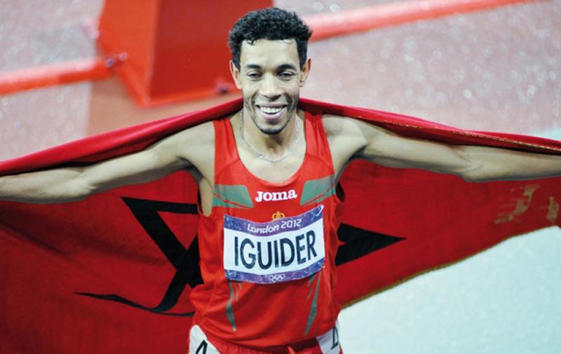 Mondiaux d'athlétisme : Iguider médaillé de bronze à Pékin
