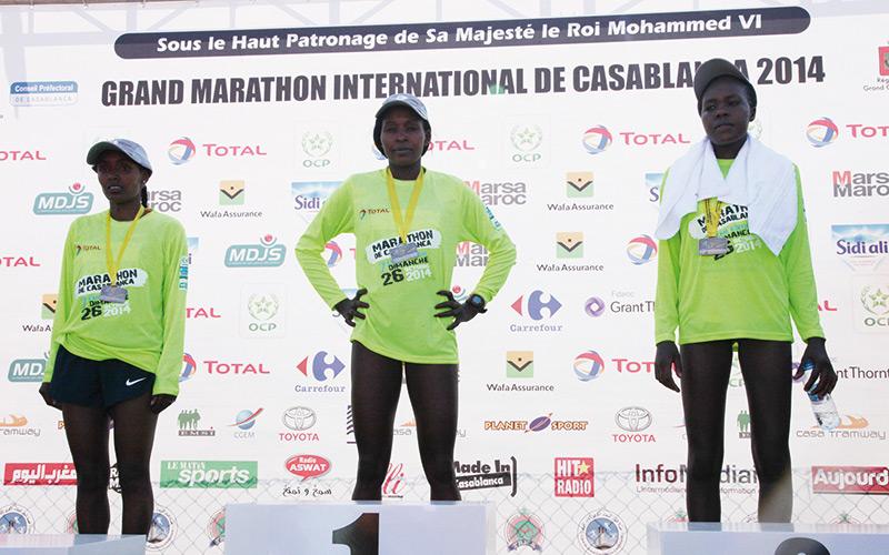 Grand Marathon international de Casablanca : Les Kényans maîtres de la discipline