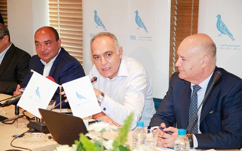Le RNI fait sa campagne : Comment Mezouar entend-il couvrir  75 à 80% des circonscriptions ?