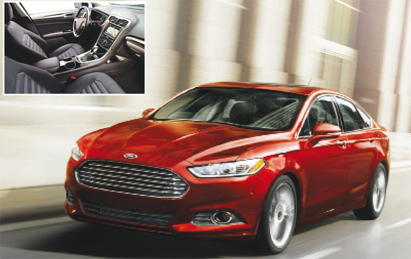 Ford Fusion 2015: It's a kind of magic!