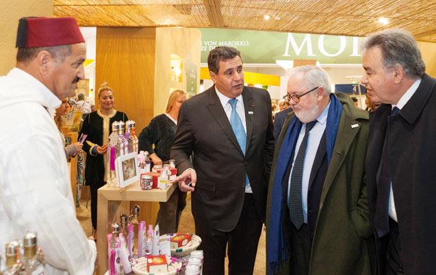 Semaine verte internationale de Berlin: Marokko ist hier !