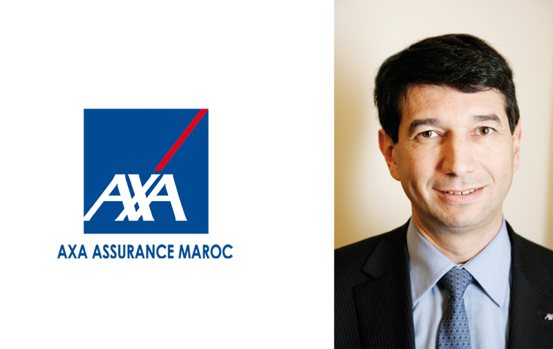 Philippe Rocard au top management d'Axa  Assurance Maroc