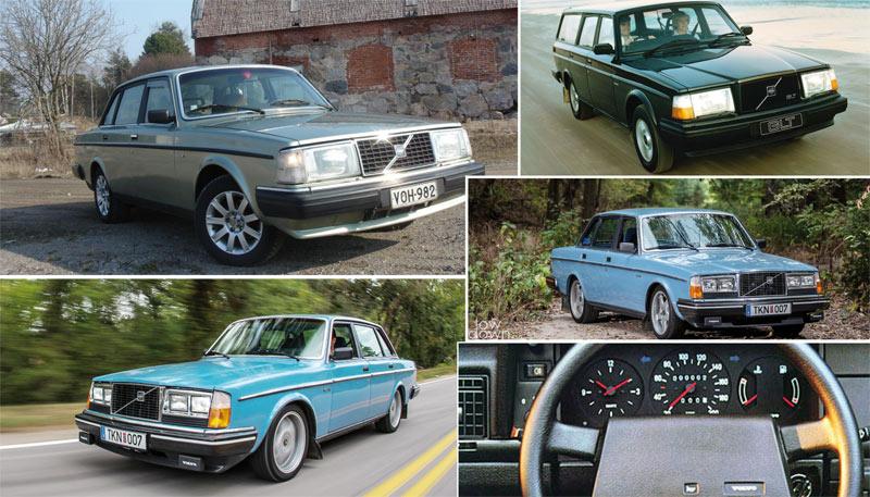 Il était une fois… Volvo 240 : Physique de bûcheron