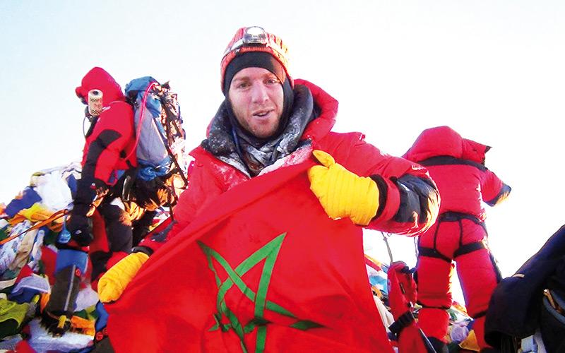 Nacer Ibn Abdeljalil traverse le Maroc du nord au sud: Un triathlon au goût de la Marche verte