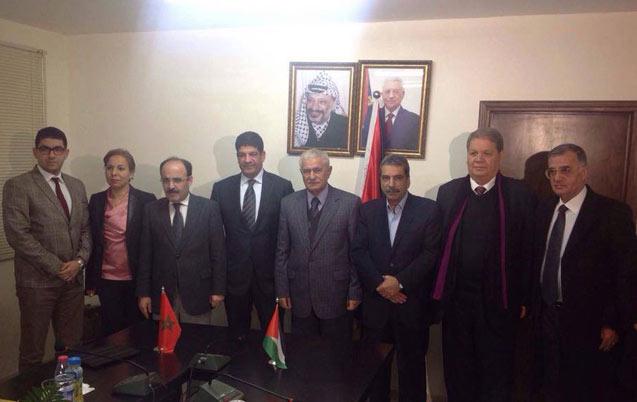 Palestine : Le PAM et le Fatah signent un accord de coopération