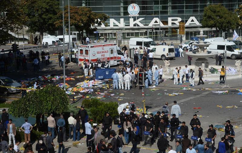 Turquie : Nouveau bilan de la double explosion d'Ankara