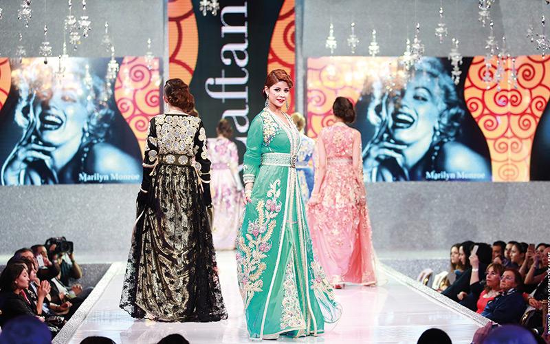 Défilé haute couture : Caftan 2015 tout en musique