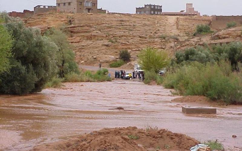 Tata: Plusieurs routes coupées en raison de pluies diluviennes