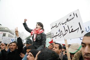Manifestations pacifiques dans certaines villes