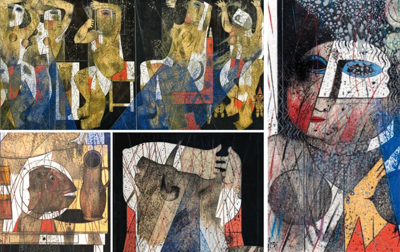 Exposition à Casablanca: Ben Cheffaj dévoile ses songes méditerranéens