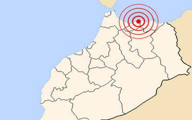 Nador: Secousse tellurique de magnitude 5,5