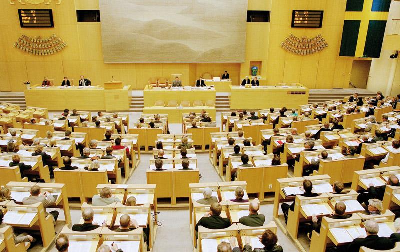Majorité, opposition et PSU en Suède dimanche