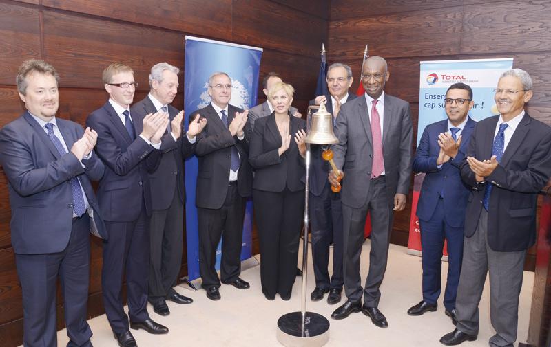 Première cotation de Total Maroc à la Bourse de Casablanca: Une première journée réussie !