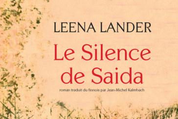 «Le Silence de Saida»  de Leena Lander