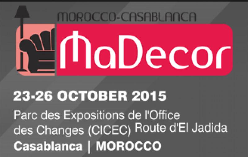 Le Salon «Madecor» du 23 au 26 octobre à Casablanca