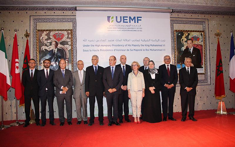 Fès : lancement de l'Université Euro-Méditerranéenne