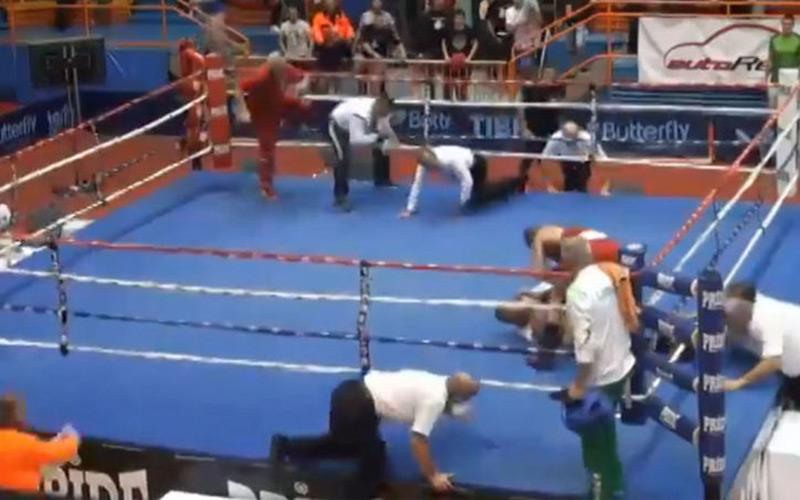 Un boxeur croate suspendu à vie pour avoir frappé un arbitre