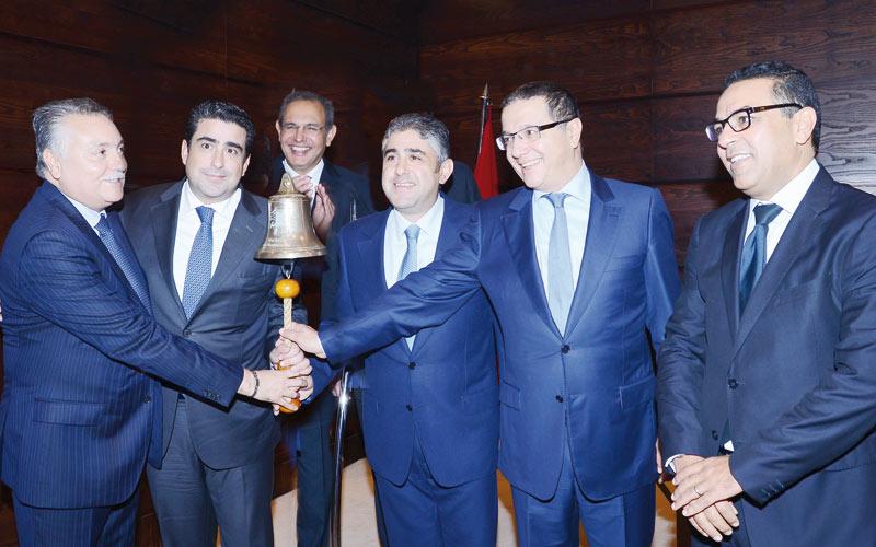 Résidences Dar Saada: Cérémonie de première cotation à la Bourse de Casablanca