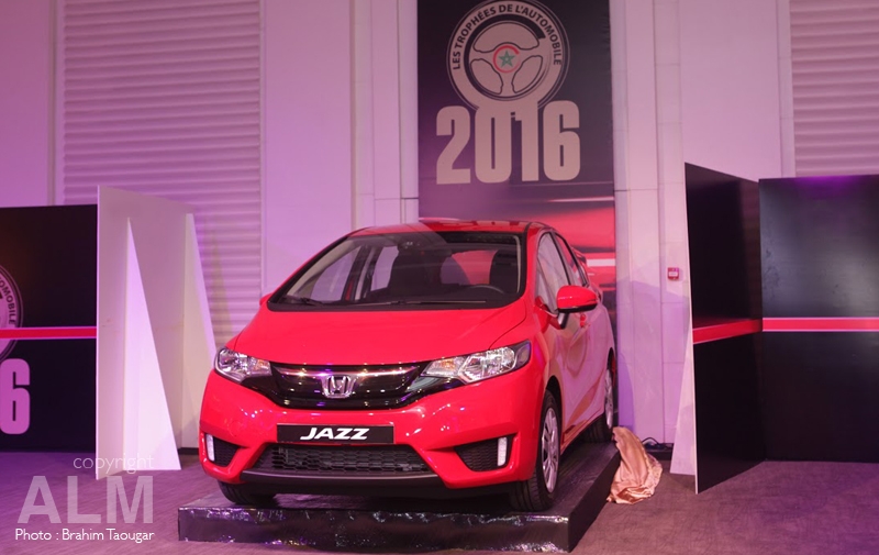 Trophées de l'automobile : Honda Jazz élue voiture de l'année 2016