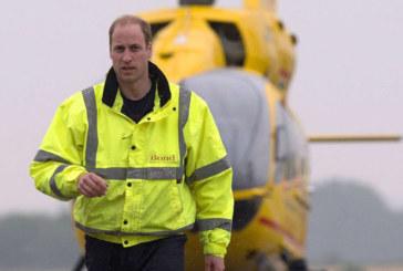 Le prince William sauve des vies avec son hélicoptère