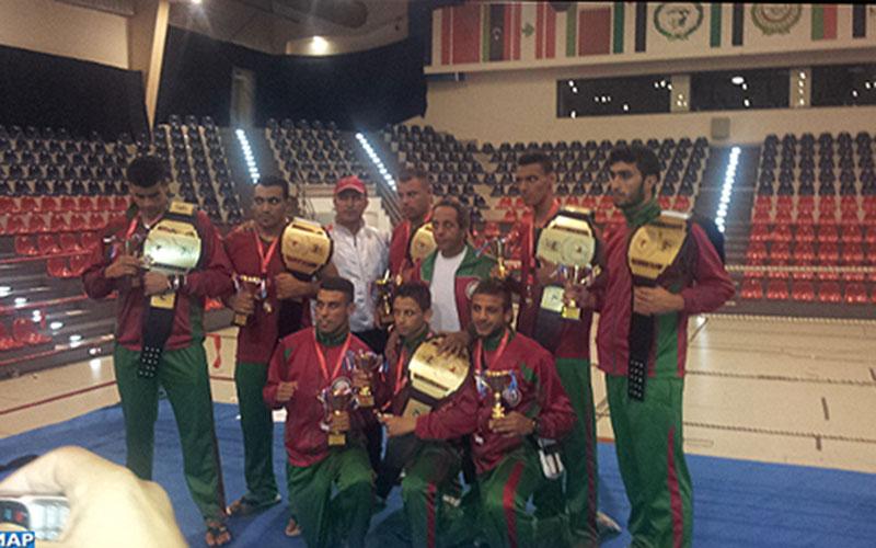 Thai-boxing : Le Maroc remporte le 5e championnat arabe