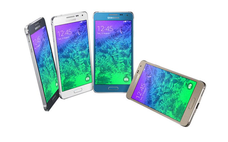 Samsung dresse un listing  de ses appareils 4G