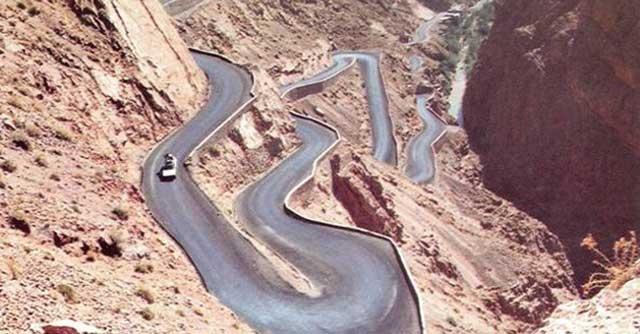 Interruption de la circulation sur la route N9 reliant Marrakech à Ouarzazate