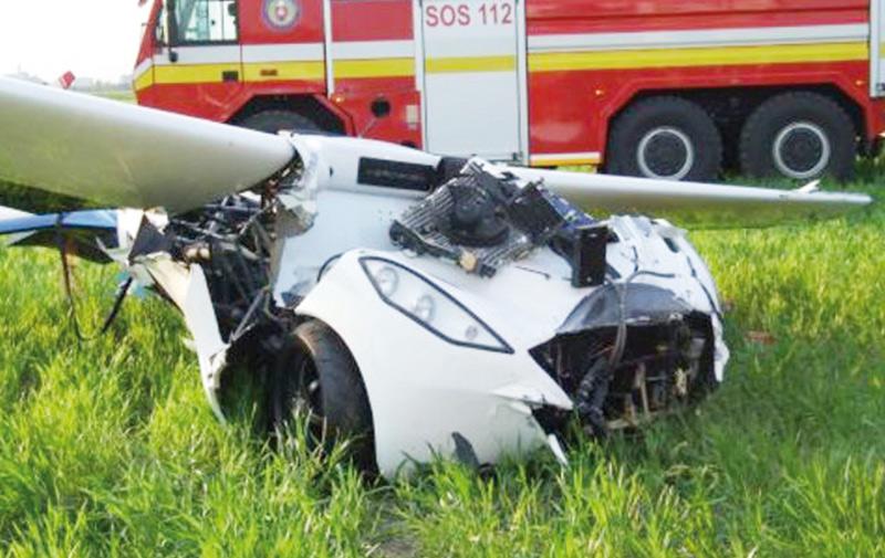 AeroMobil, la voiture volante, s'écrase en Slovaquie