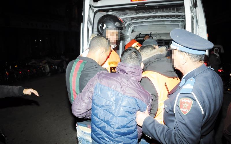 Hooliganisme à Fès : arrestation de 8 individus, dont deux mineurs