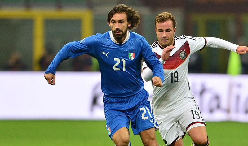 Italie : Pirlo arrête l'équipe d'Italie après la Coupe du monde 2014