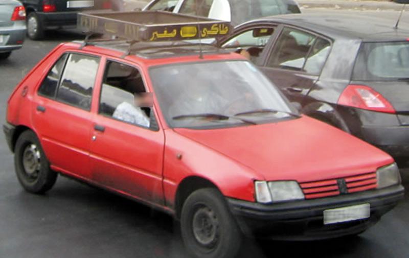 Casablanca : Saisie  de 20 kg de haschich dans un petit taxi
