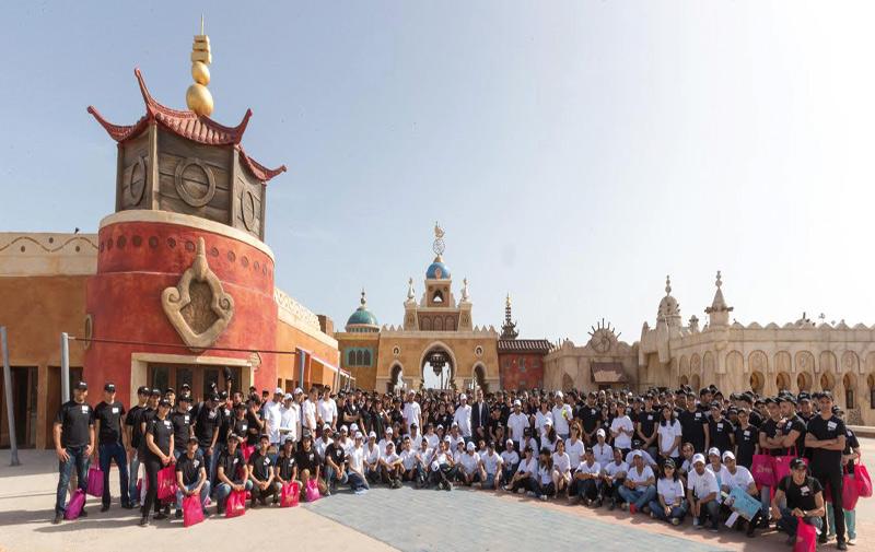 Journée d'intégration pour 300 nouvelles recrues: Le Parc Sindibad renaît de ses cendres…
