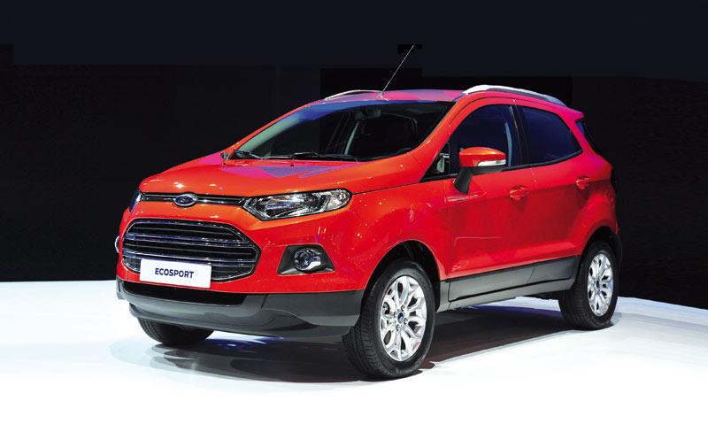 Ford EcoSport: Un look de dur à cuire !
