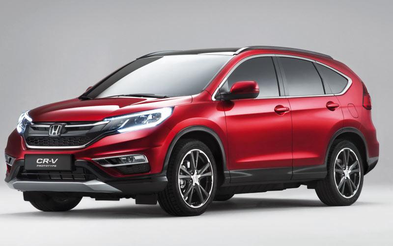Honda CRV 2015: Le SUV se refait une beauté