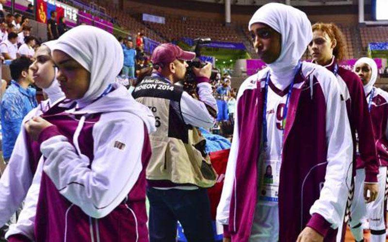 Interdites de voile, les Qatariennes quittent les Jeux Asiatiques