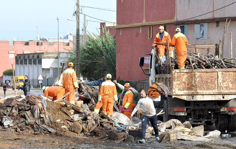 Kenitra: la wali déloge les vendeurs informels