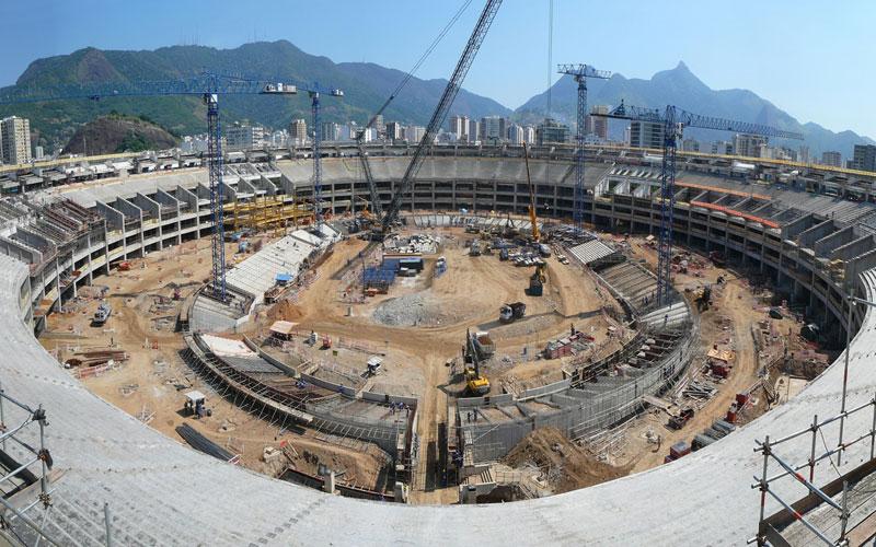 Coupe du monde 2014 : le stade de Curitiba testé pour la première fois au Brésil