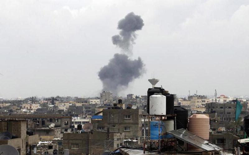 Gaza : raids israéliens  en réponse à un tir de roquette