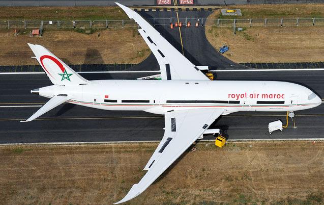 Boeing 787 Dreamliner: Partenariat décennal entre la RAM  et General Electric