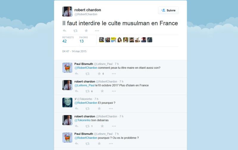 France : Un maire UMP appelle Nicolas Sarkozy à «interdire l'islam»