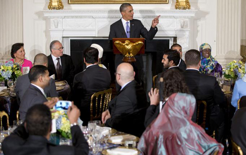 Washington : Obama célèbre Ramadan à la Maison Blanche