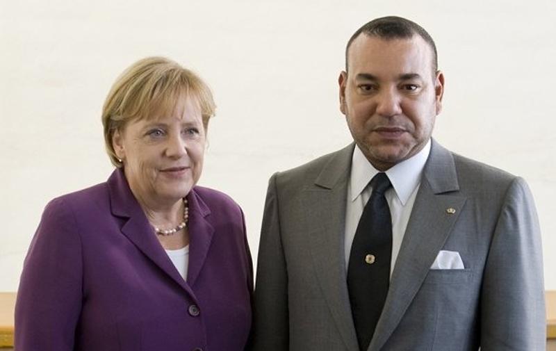 Angela Merkel invite SM le Roi à se rendre en visite en Allemagne