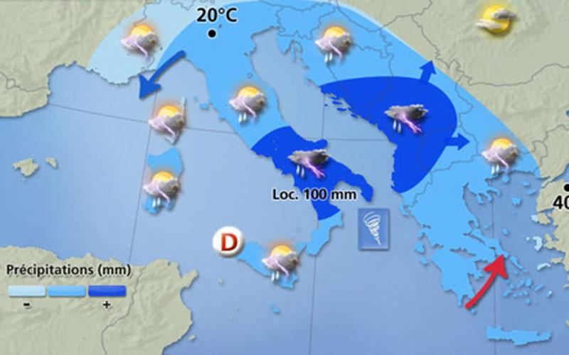 Italie : La météo attaquée en justice pour fausses prévisions